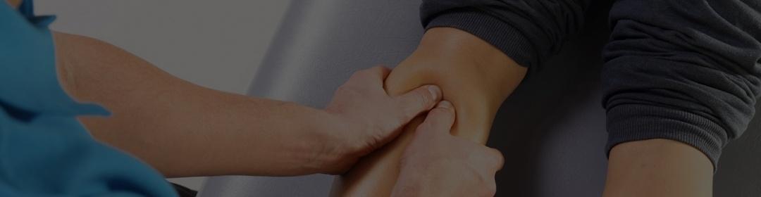 chiro adjustment on elbow
